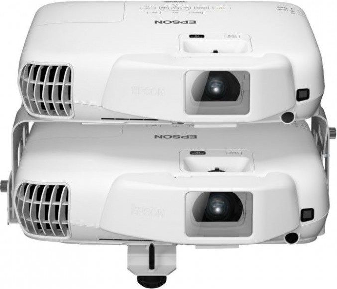 Προβολικό EB-W16SK Stacking video system with two 3LCD WXGA Projector 3000 LUMENS
